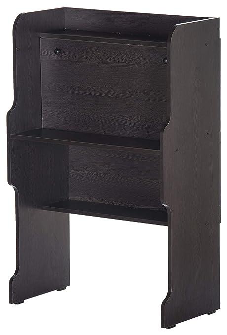Valtos Onix Engineered Wood Study Table (Matte Finish, Wenge)