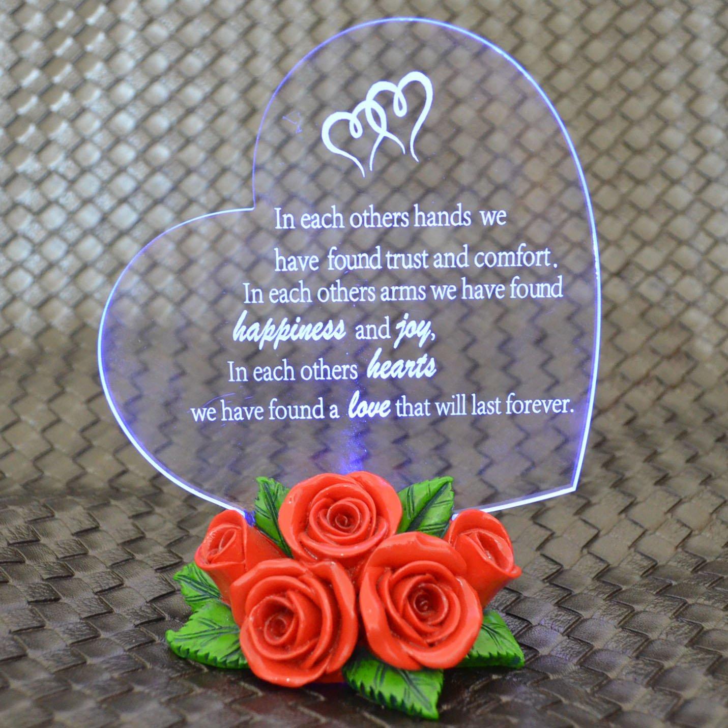 Giftgarden Heart Shaped LED Light