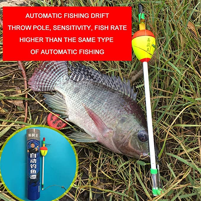 Fully Automatic Fishing Bobbers Durable Fishing Float Tackle Bite Fishing O6B0