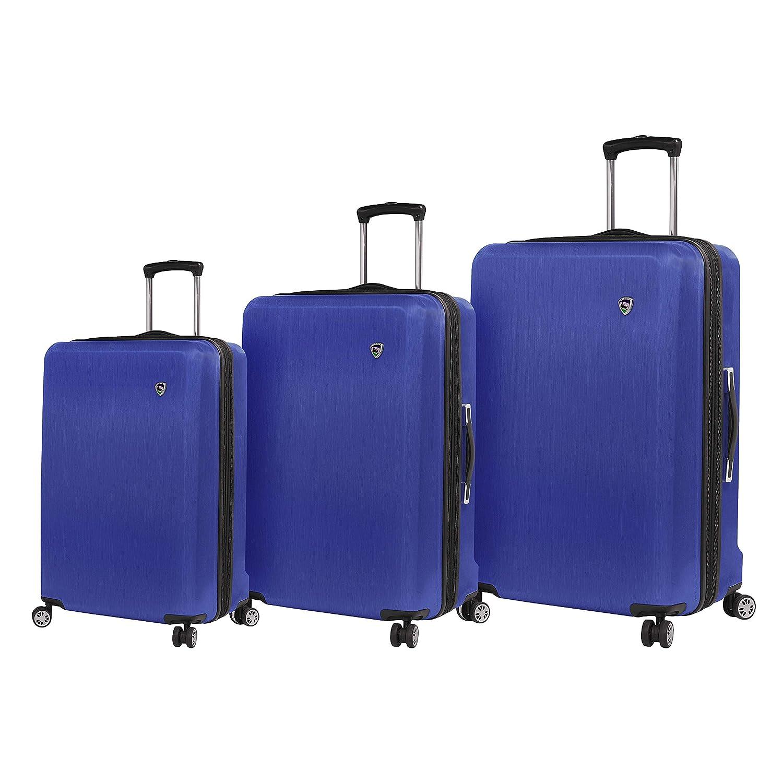 Mia Toro, M1203-03PC-BLUNN ラゲッジセット, ブルー, One Size B07L3FLHJ5