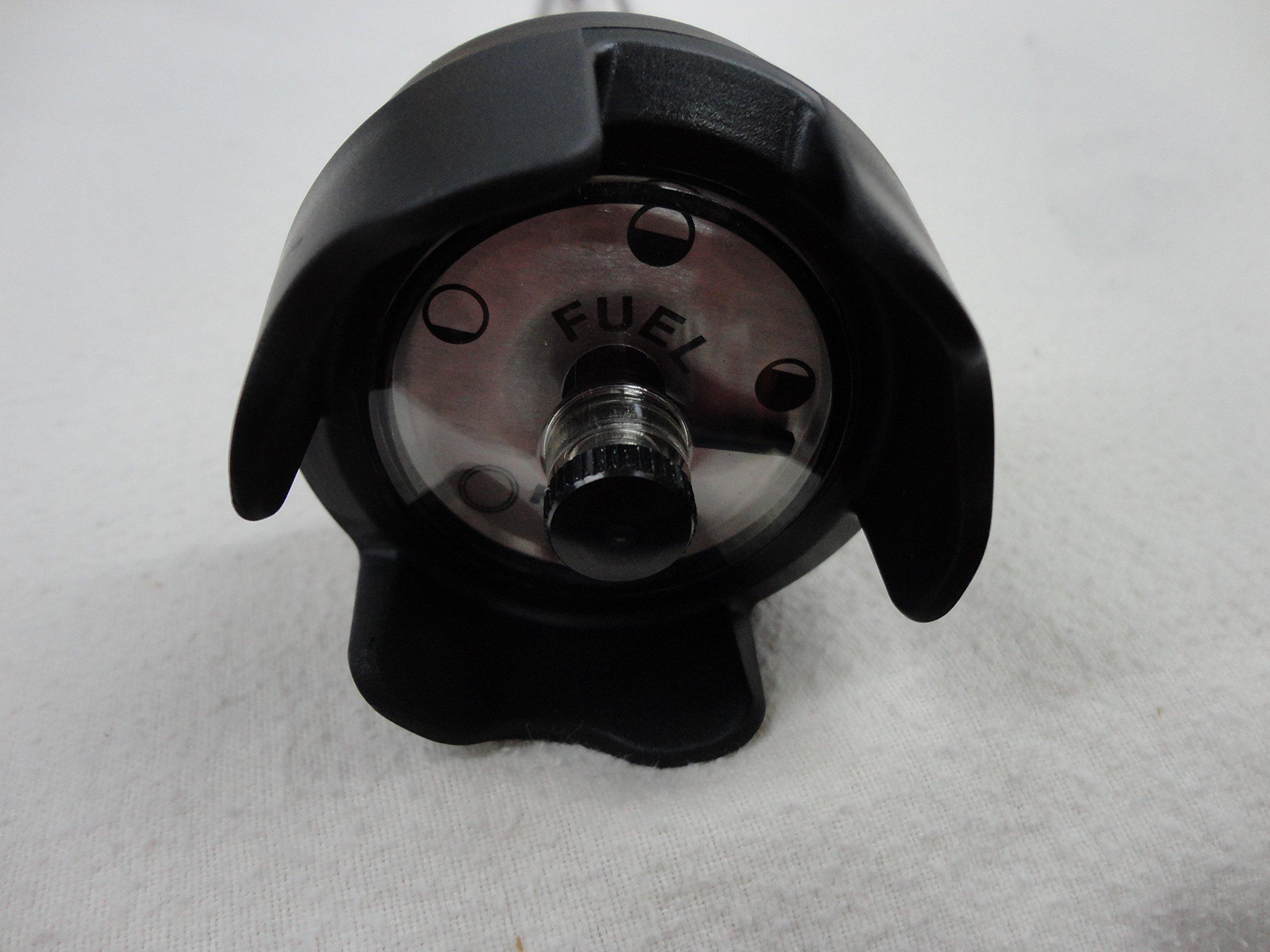 Kelch 7J203622 12'' Threaded Marine Gas Cap with Adjustable Screw Vent