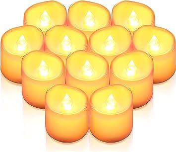 Teelichter LED mit flackern// 6er Set inkl.Batterien Weihnachten *NEU*