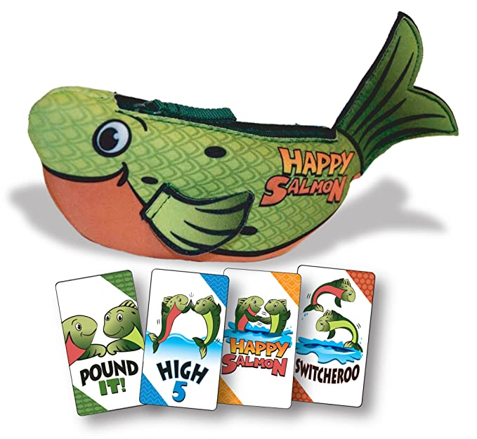 North Star Games Happy Salmon | Fast Paced Family Card Game by North Star Games