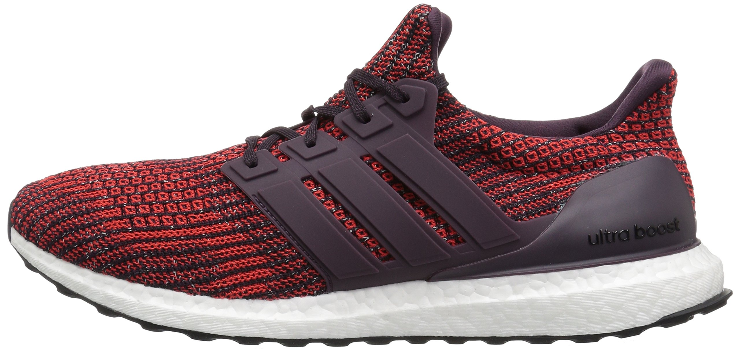 adidas Men's Ultraboost Road Running Shoe, Noble Red/Noble Red/Core Black, 5 M US by adidas (Image #5)