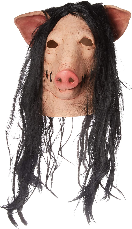 Máscara de cerdo Saw: Amazon.es: Juguetes y juegos
