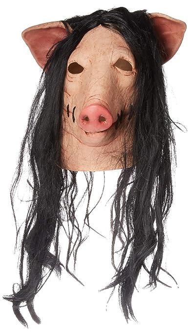 Trick or Treat Studios Mens Saw-Pig Mask