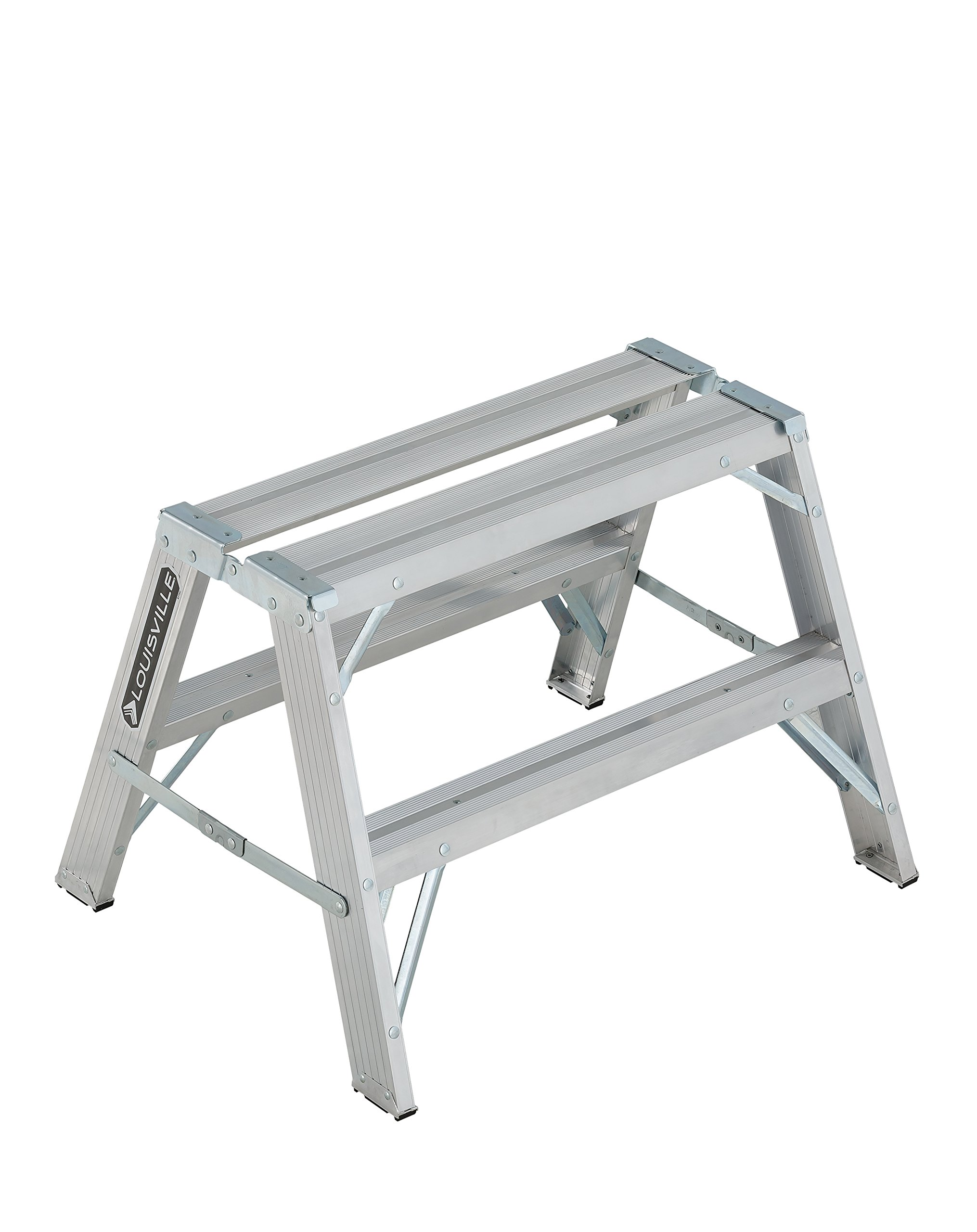 Louisville Ladder 2-Foot Aluminum Sawhorse, L-2032-02