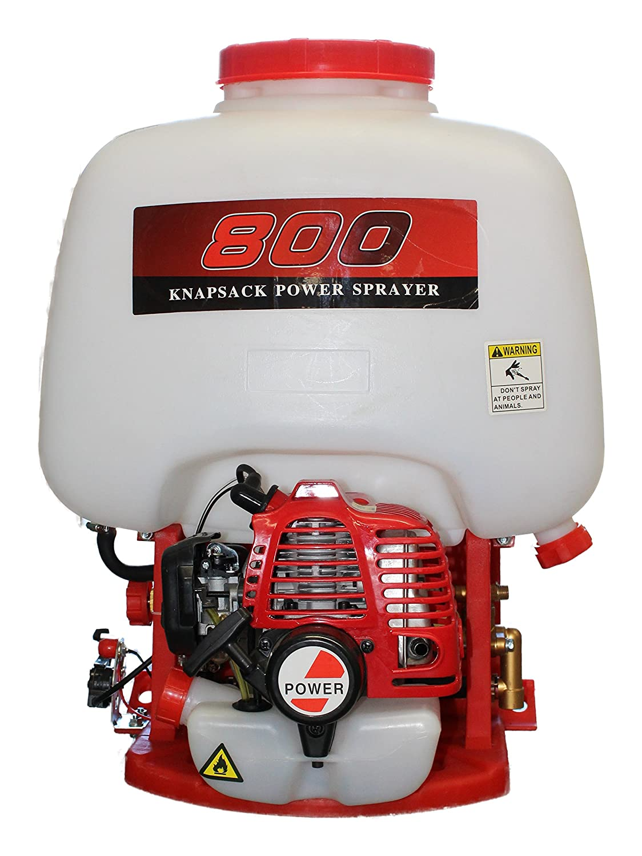 Bricoferr BFOL0864 Mochila fumigadora con Motor a Gasolina, 2 Tiempos Bricoferramentas