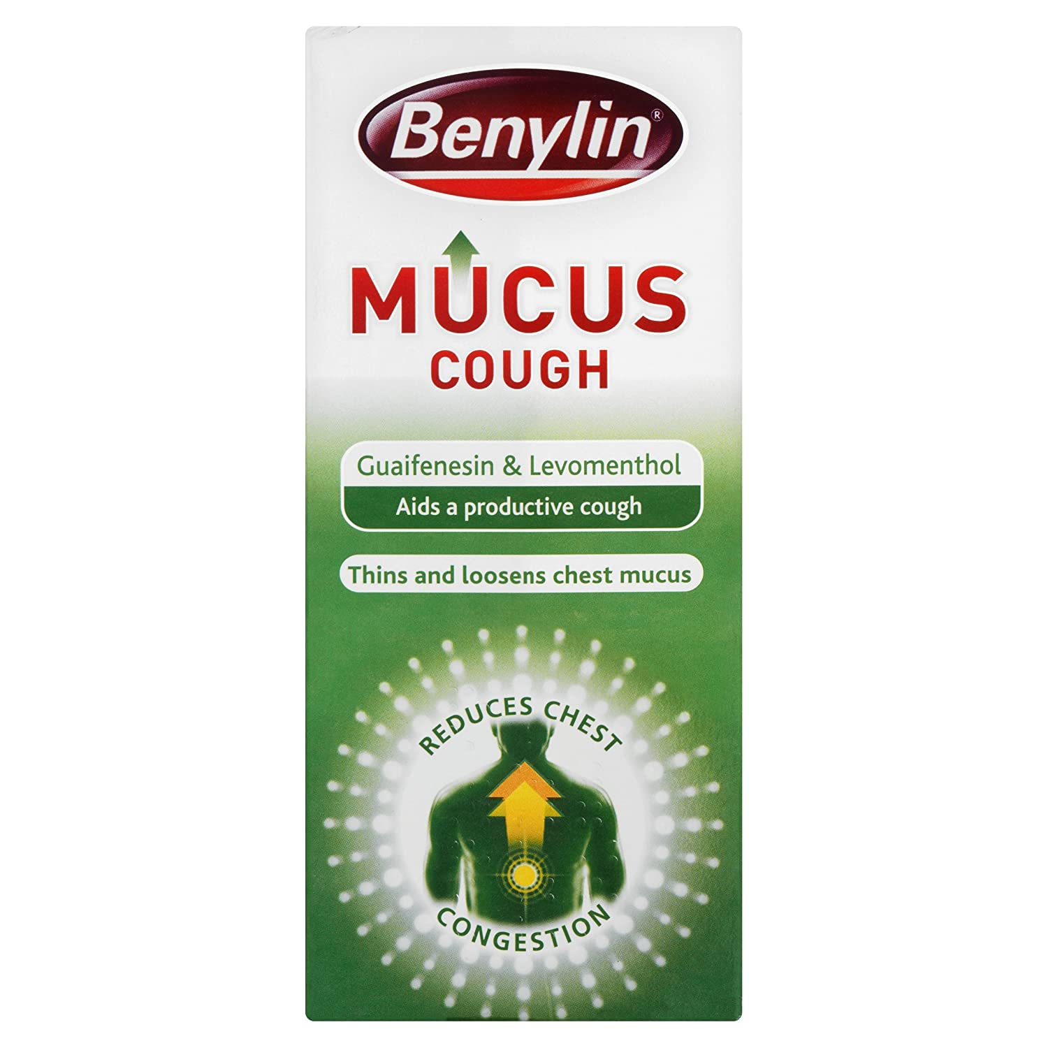 Treatment of cough with phlegm