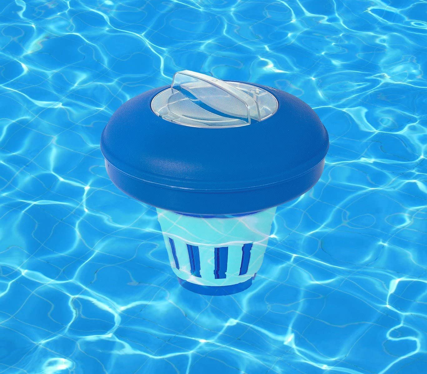 58071 Dispenser cloro galleggiante Bestway per piscina fuoriterra MWS