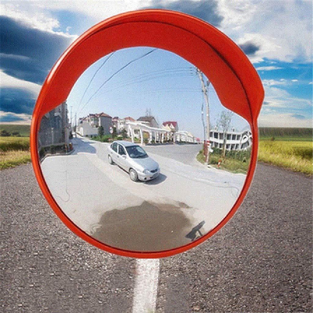 Miroir Convexe R/églable Incassable Mirror Drive Driveway Panoramique Panoramique de S/écurit/é DAngle Mort de S/écurit/é de Garage Courb/é 60Cm , Magas BXZ Lentille Grand-Angle de Circulation Ext/érieure