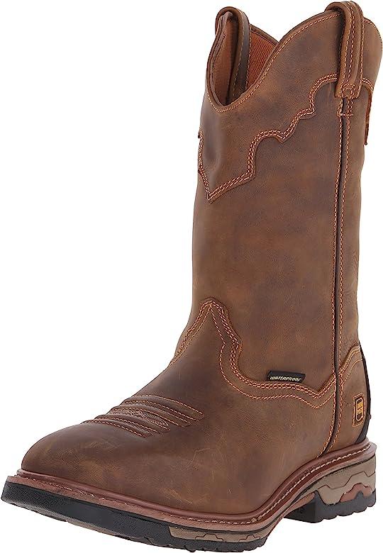 Blayde Work Boot, Saddle Tan