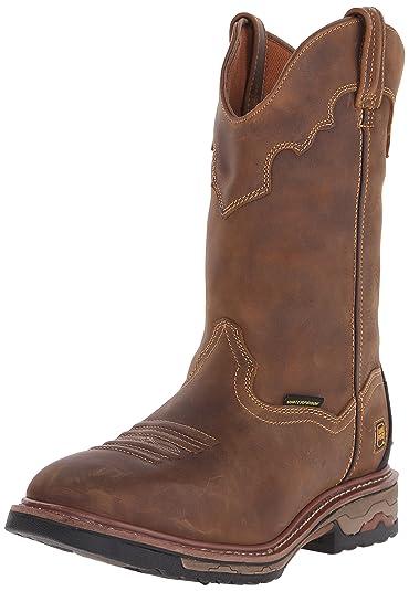 Dan Post Boots Men's Blayde DP69402,Saddle Tan Leather,US 15 EW