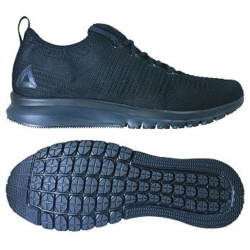 new style 515ac 56af1 Reebok Print Smooth 2.0 ultk – Chaussures Sportives, Hommes, Noir – (Black