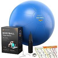 Pelota de Pilates | Balón de Ejercicio | Bola de Embarazada, Yoga, Fitness y Gimnasio - 55cm / 65cm / 75cm Fitball Silla…