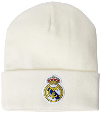 3d86f71f2d0 adidas Men Beanie Real Madrid 3 Stripes Football Hat Ronaldo Headwear  CY5598 New (One Size