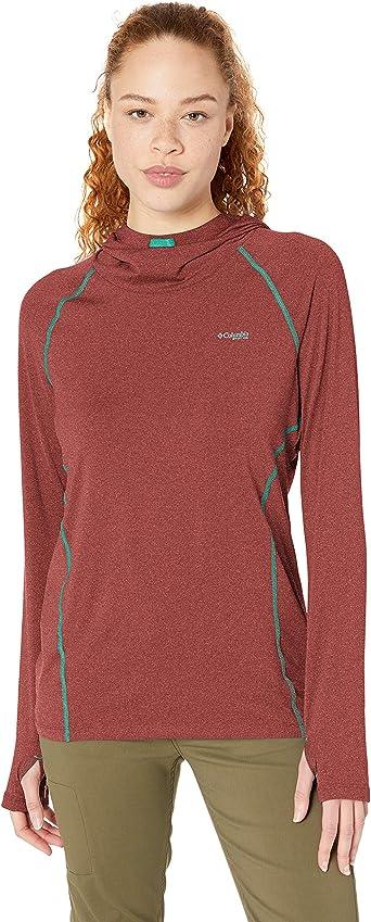 Columbia Womens Tamiami Heather Knit Long Sleeve T-Shirt