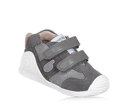 Zapatillas para niï¿œo, color gris , marca BIOMECANICS, modelo Zapatillas Para Niï¿œo BIOMECANICS D N.SYMPHONY H.D Gris: Amazon.es: Zapatos y complementos