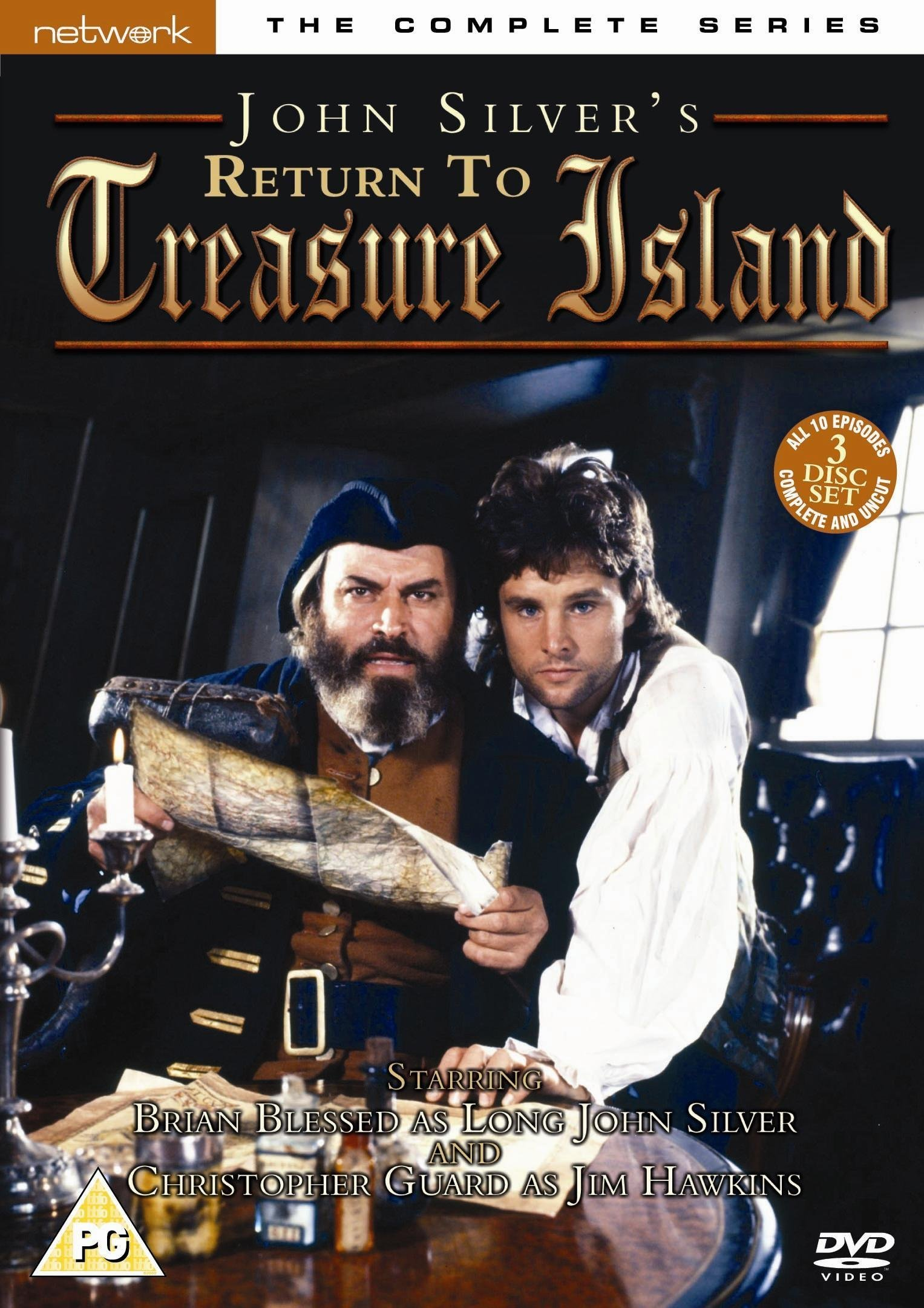 Return To Treasure Island - The Complete Series [DVD] [1986]