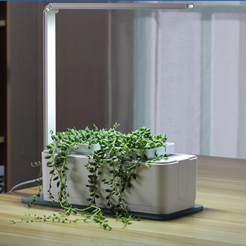 Amazon.com : Smart Hydroponics Indoor Herb Garden Kit By SavvyGrow  Growing  System With 2 Self Watering Herb Garden Pots, Seeds, Fertilizer, Planting  Medium ...