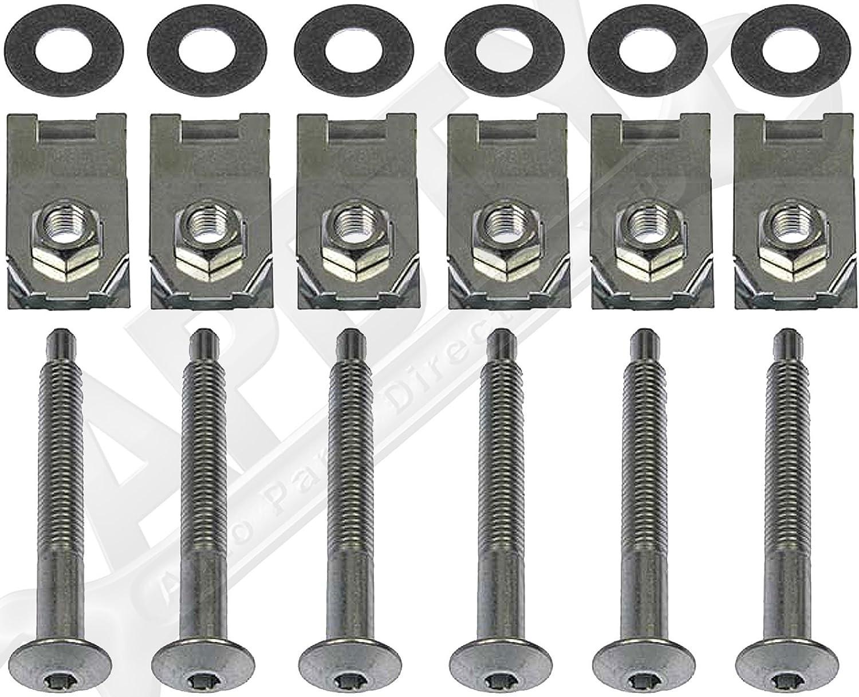 B2500 1998-2001 Replaces 924-310 N802286-S101 9XB03-33402 B3000 1994-2008 FEXON Truck Bed Mounting Bolt Kit for Ford Ranger 1984-2011 Mazda B2300 B4000 1994-2010