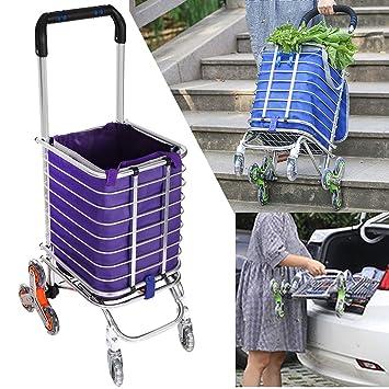 goodfans plegable giratorio rueda carrito de la compra para ...