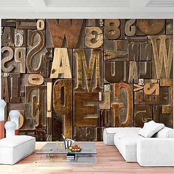 Fototapeten Holz Holzwand 352 X 250 Cm Vlies Wand Tapete Wohnzimmer  Schlafzimmer Büro Flur Dekoration Wandbilder
