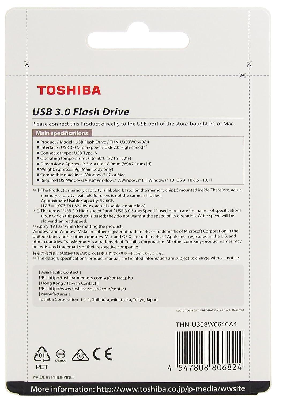 Toshiba Akatsuki 64gb Usb Pendrive White Buy Flashdisk Flasdisk 64 Gb Online At Low Price In India