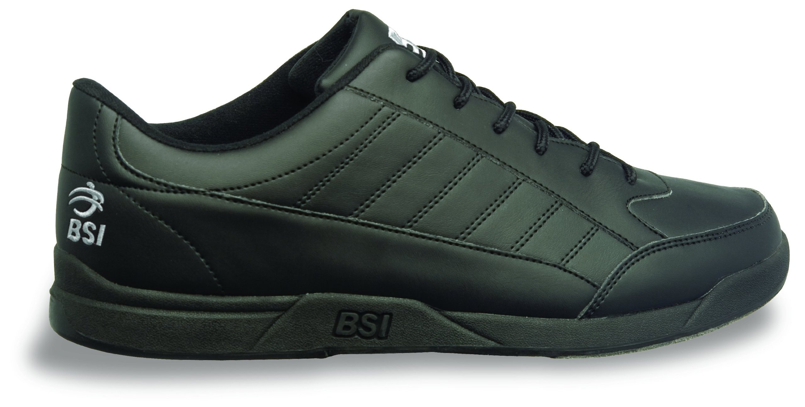 BSI Men's Basic #521 Bowling Shoes, Black, Size 12.0 by BSI