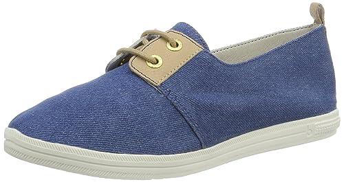 Bugatti J64086j5, Zapatillas para Mujer, Azul (Jeans 455), 38 EU