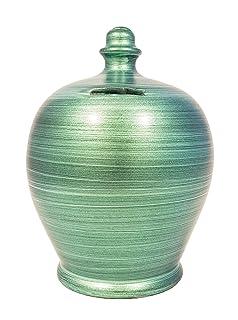 Terramundi verde metallizzato A80 Terramundi Pots
