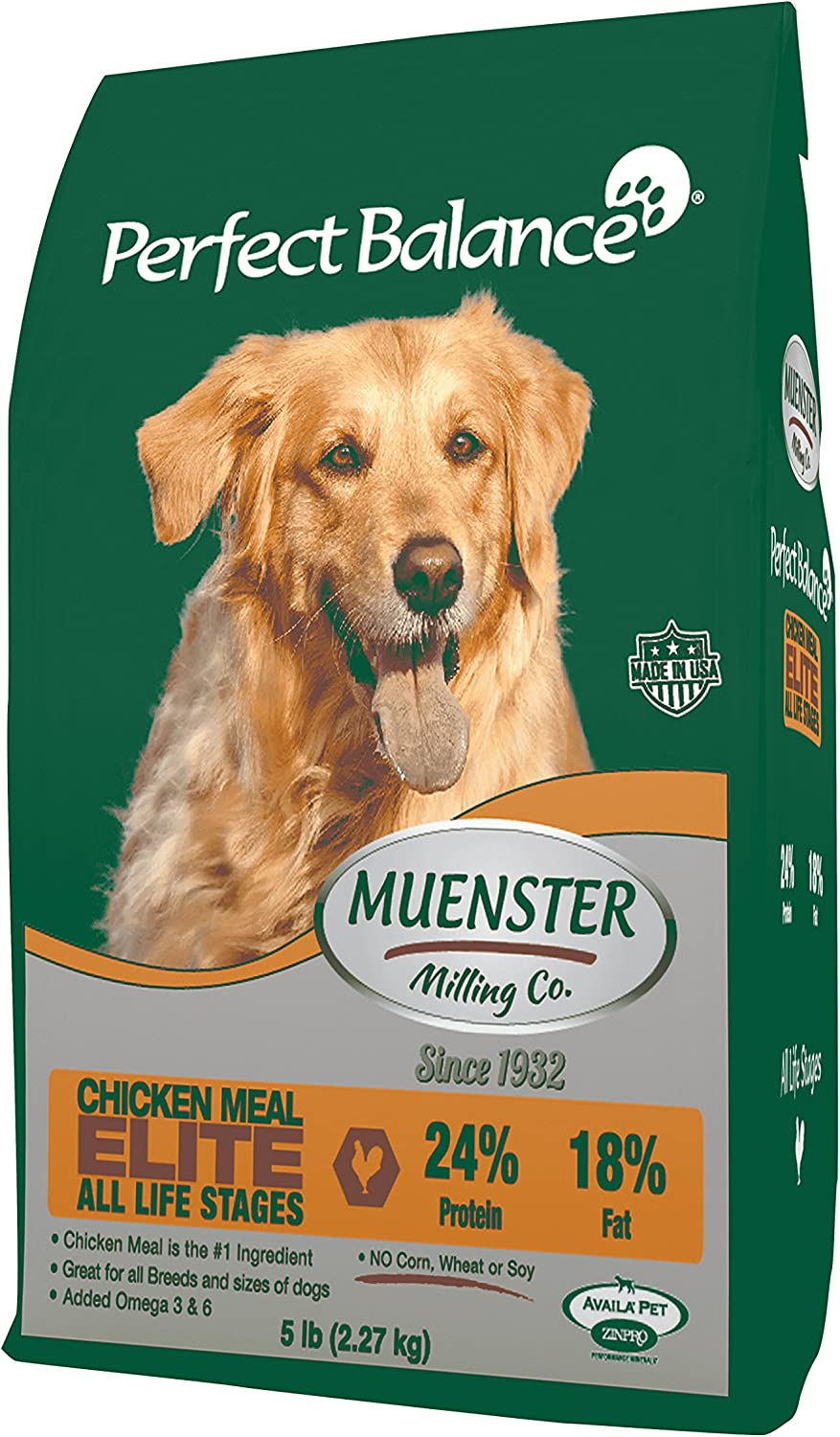 Muenster Milling Co. Perfect Balance Elite – All Life Stages Dog Food