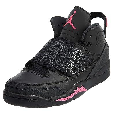 JORDAN SON OF GP girls basketball-shoes 512243-009 1.5Y - BLACK  e4f804073