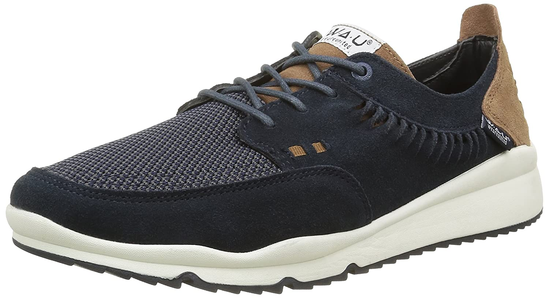 Wau Basset, Alpargatas para Hombre, Azul, 41 EU: Amazon.es: Zapatos y complementos