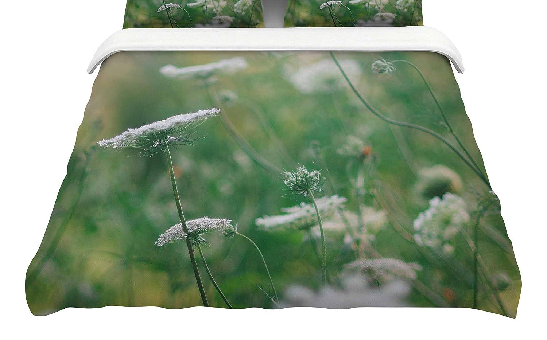 Kess InHouse Chelsea Victoria Queen Ann King Cotton Duvet Cover 104 x 88 104 x 88