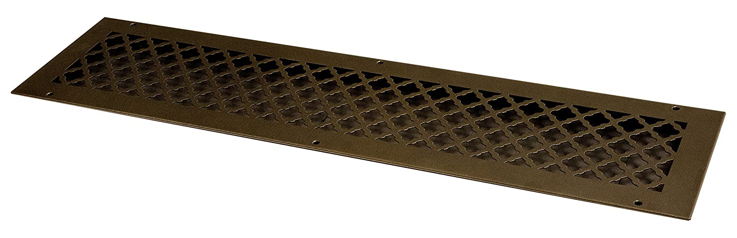 with mounting Screws Oil Rubbed SteelCrest BTU30X6RORBH Bronze Series Designer Wall//Ceiling Vent Cover