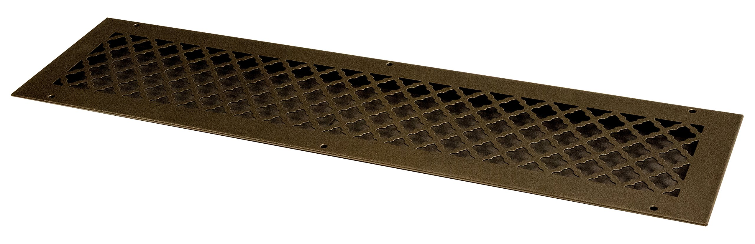 SteelCrest BTU30X6RORBH Bronze Series Designer Wall/Ceiling Vent Cover, with Mounting Screws, Oil Rubbed Bronze