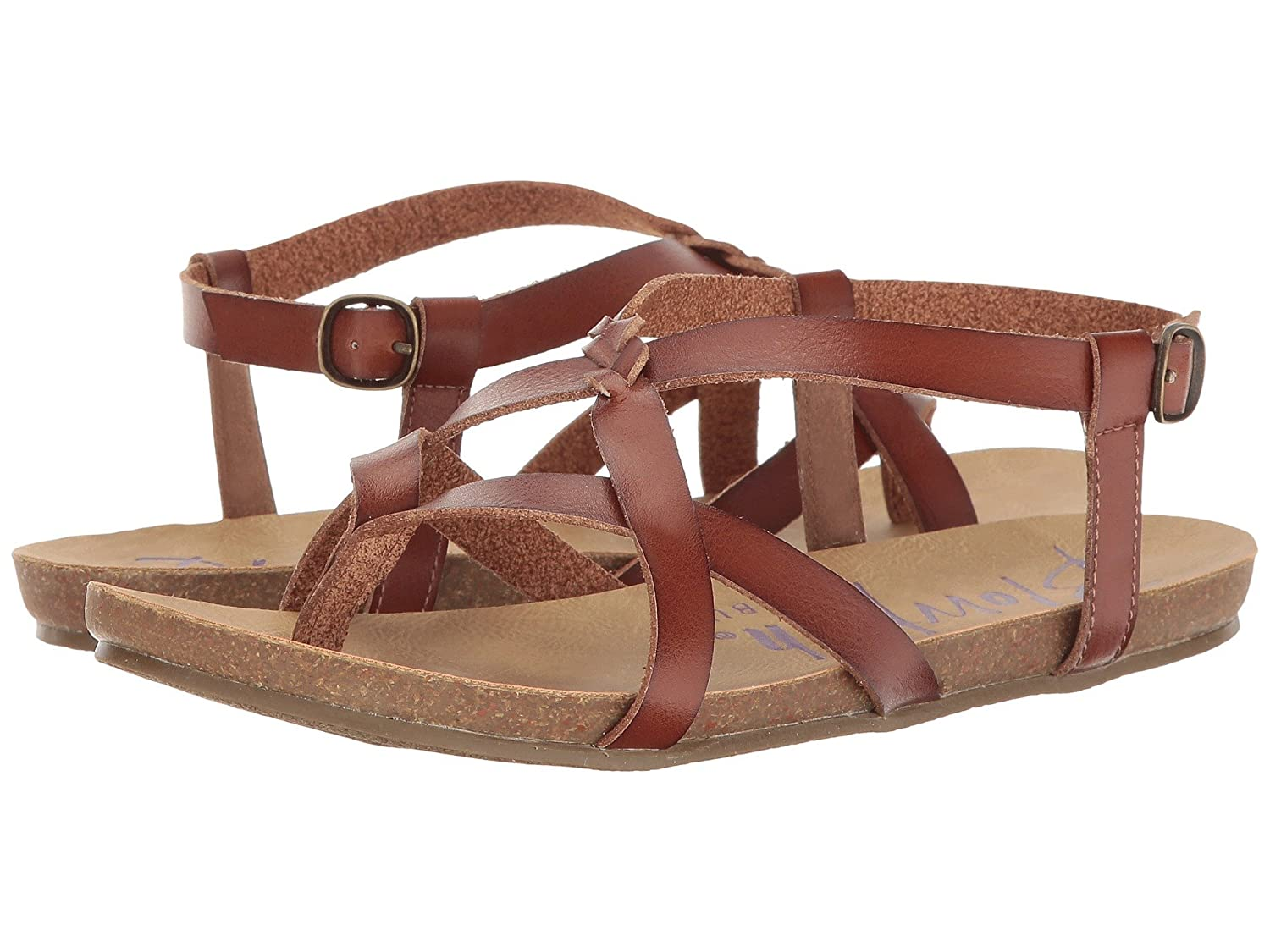 Blowfish / Women's Granola Fisherman Sandal B07B3RQRR3 39-40 M EU / Blowfish 8.5 B(M) US|Scotch Dyecut 06eb08
