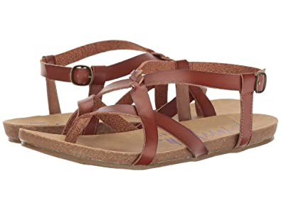 25075a659 Image Unavailable. Image not available for. Color  Blowfish Women s Granola-B  Flat Sandal