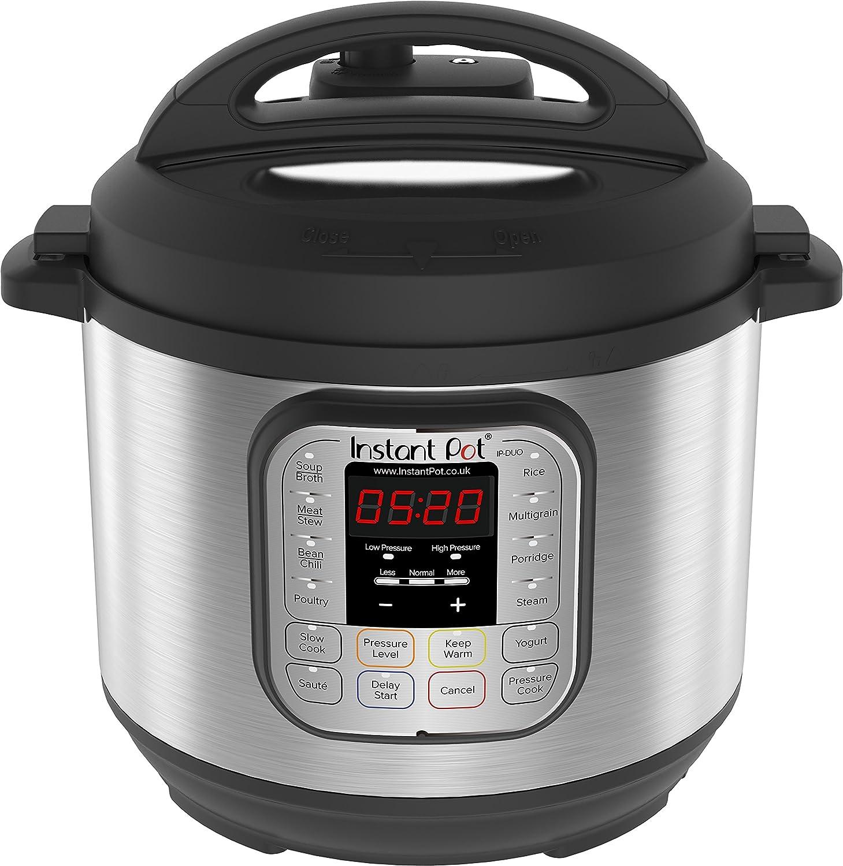 Instant Pot IP - DUO60, Olla de presión programable 7 en 1, 5.7L ...