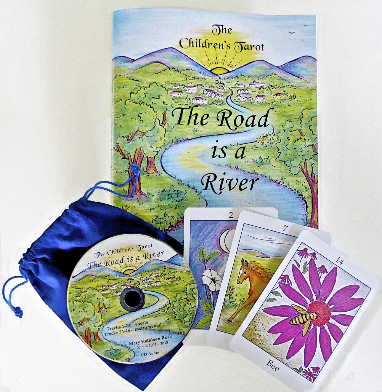 Download The Children's Tarot: The Road is a River pdf epub