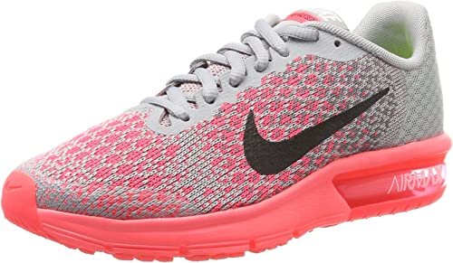 Nike Air Max Sequent 2 (GS), Chaussures de Gymnastique Fille