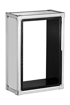 Étagère Peau Effet de en Premier INOX Cube Housewares Murale 5qj34RAL