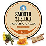 Hair Cream For Men | Smooth Viking Forming Cream for Hair (2 Ounces) - Hair Styling Cream for Matte Finish & High Hold - Wate