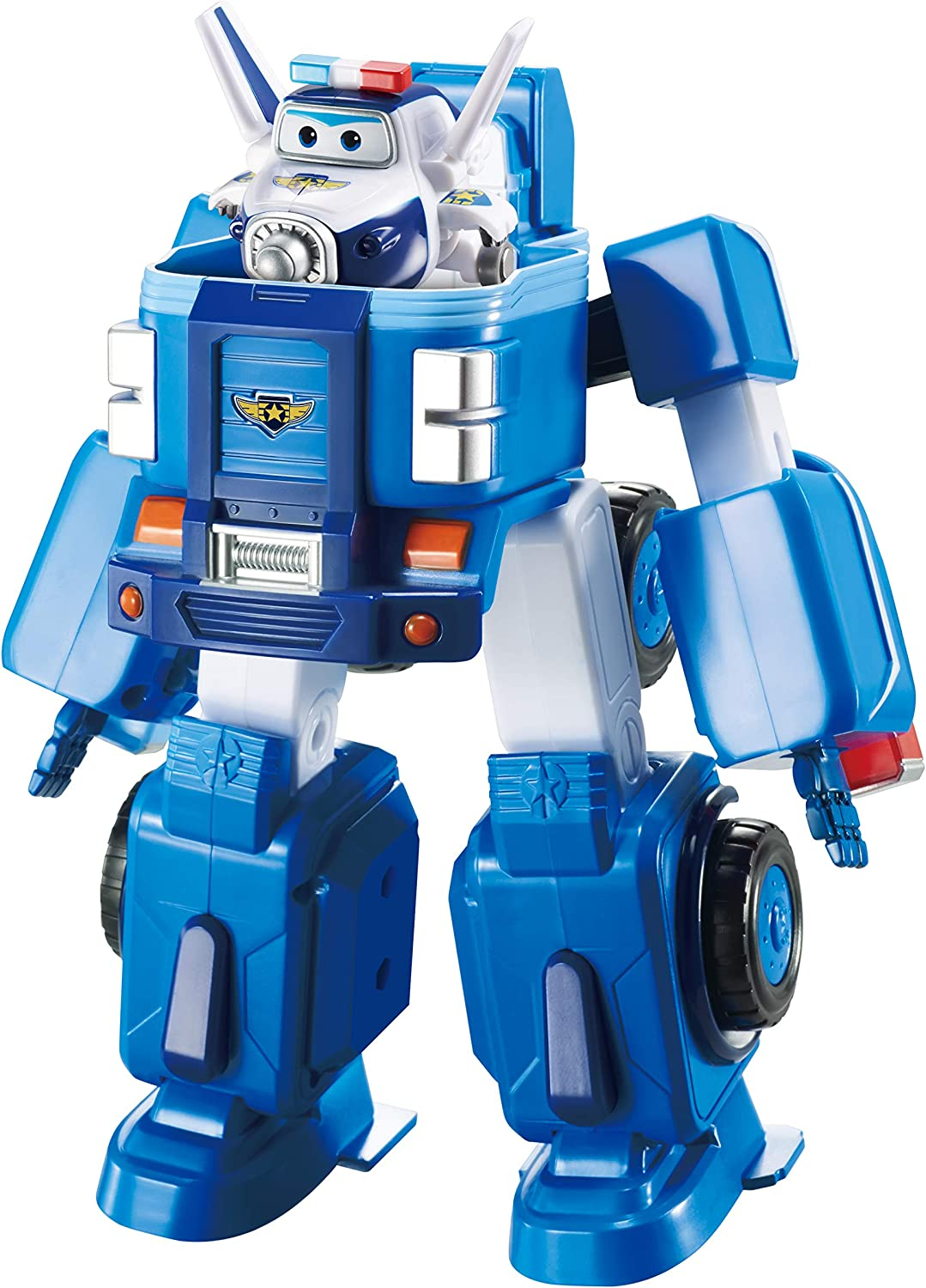 Deluxe Transforming VehicleSeries 2JettPlane and Bot Super Wings