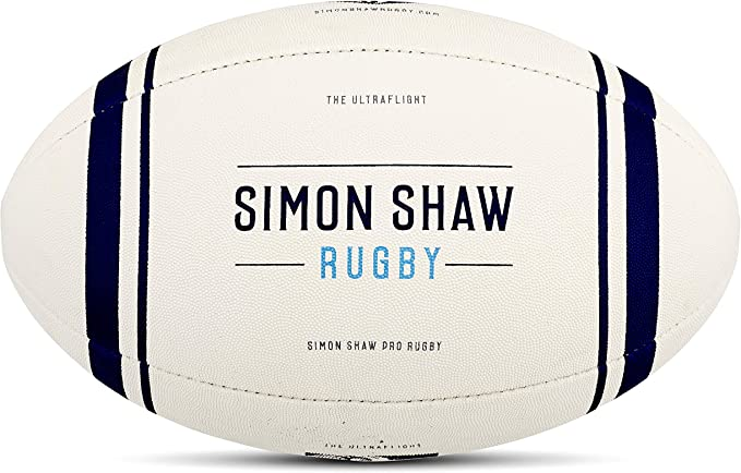 Simon Shaw Rugby – Ultra Flight – Pelota de Rugby tamaño 4 ...