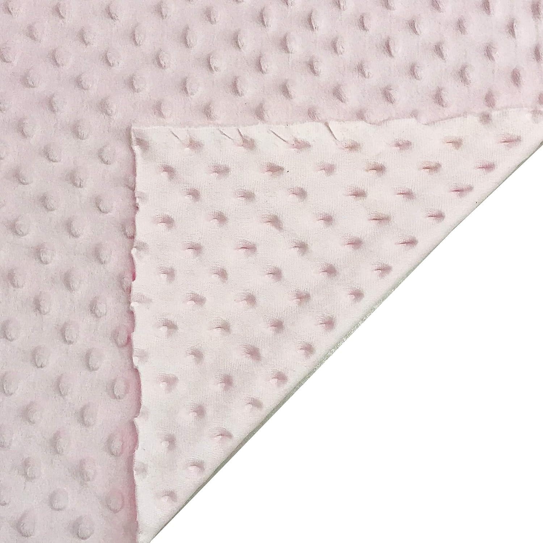 recortes de tela Minky 50 x 75 cm Ideal para realizar accesorios como bufandas gorros y bragas o para creaciones hechas a mano Panini Telas