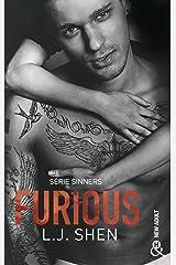 Furious : Le tome 4 de la série New Adult à succès : SINNERS ! (French Edition) Kindle Edition