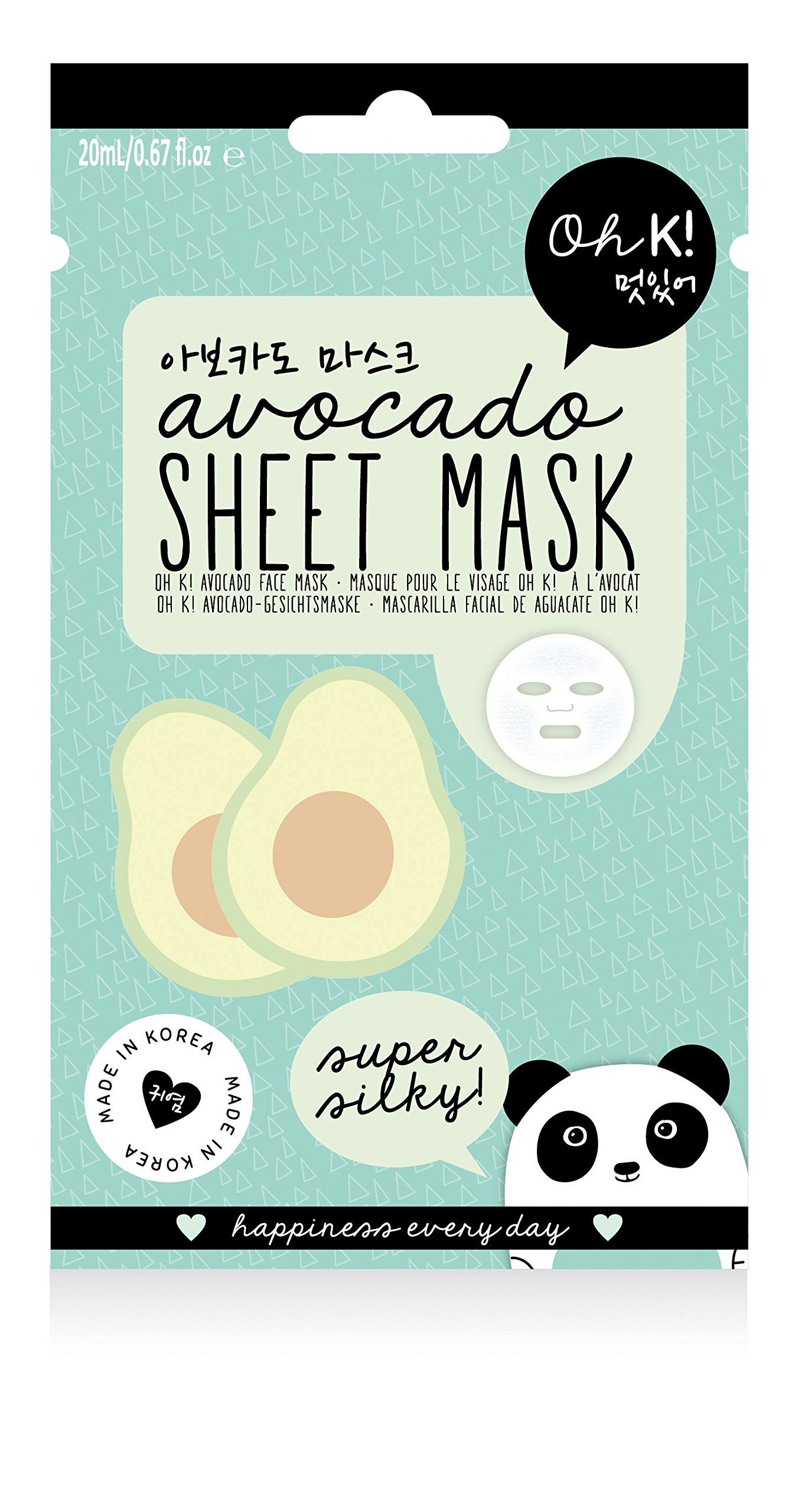 Amazon.com: Oh K! Blackhead Clearing Nose Pore Strips, 3-Count: Beauty