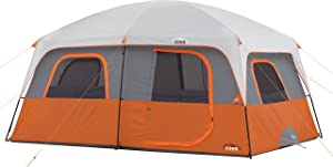 CORE 10 Person Straight Wall Cabin Tent